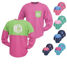 How perfect are these pocket Jerseys for a coverup by the pool or at the beach. on sale for just 40 dollars. www.thepinkmonogram.com