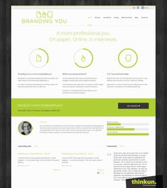 Branding You - Home page