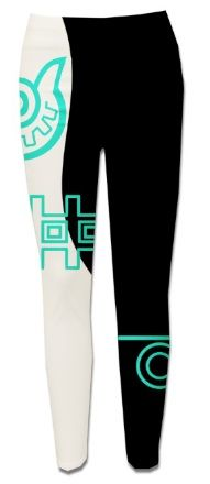 These full print leggings are made from a soft stretchy jersey material with elastic waistband. Made from 90% Polyamide Fabric, 10% Lycra High Quality Machine Washable Designs imprinted using an advance heat sublimation technique