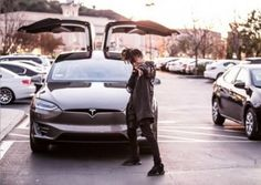 The Tesla Model X is certainly a baller item, and at 17years old, Jaden Smith is the youngest baller to own one. The son of former Fresh Prince of Bel-Air Will Smith and Jada Pinkett-Smith was spotted by photographers posting up with his Tesla Titanium Model X in Los Angeles this Monday. http://cleantechnica.com/2016/02/05/will-smiths-son-jaden-smith-now-a-tesla-model-x-owner/