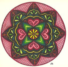 Love Mandala by ~Jewelfly