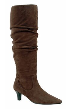 8639b28601d Ros Hommerson Women s Tiffany Extra Wide Calf Boot (Brown Suede) - Ros  Hommerson Wide