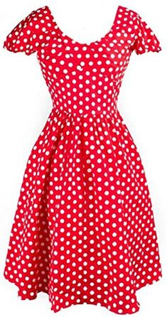 Shop a great selection of Artkingdome Women's Hepburn Retro Style Polk Dot Slim Picnic Rockabilly Dress. Find new offer and Similar products for Artkingdome Women's Hepburn Retro Style Polk Dot Slim Picnic Rockabilly Dress. Cheap Dresses, Casual Dresses, Retro Fashion 50s, Vintage Dresses, 60s Dresses, Rockabilly Dresses, Summer Dresses, Dress Robes, Womens Cocktail Dresses