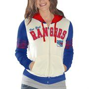 New York Rangers Women's Powerhouse Full Zip Hoodie - White/Royal Blue It's Saturday in real life, but it's still Black Friday at Fanatics! Save 25% + free shipping on orders over $50! Use code: BLKFRI