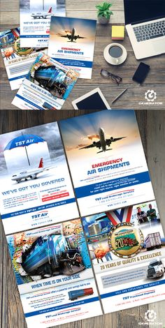 One of our clients, TST, required informative flyers pertaining to their different shipping services. We were tasked with communicating fast, safe delivery by land and air, and so created these flyers with graphics illustrating their service guarantees. #GeneratorDesign