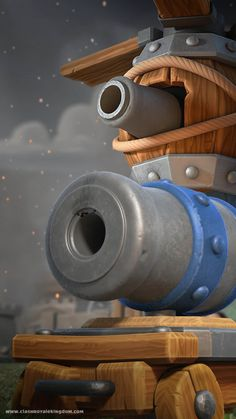 Flying Machine and Cannon Cart Coc Clash Of Clans, Clan Games, Cartoon Building, Fictional Heroes, Cool Wallpaper, Arcade Games, Cannon, Legos, Game Art
