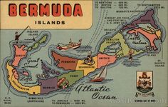 Bermuda Islands Maps