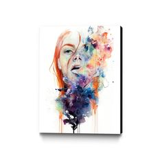 """This Thing Called Art is Dangerous. This print is an OPEN EDITION. This Museum Mounted Canvas is printed on North American Semi-Gloss Artisan Canvas. It arrives at your door ready-to-hang - stretched and finished with an elegant 2"""" deep Matte Black Cotton edge."""
