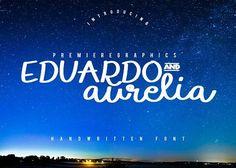 Eduardo and Aurelia by Premiere Graphics on @creativemarket