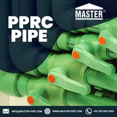 Pprc Pipe can provide very high performance even under high and low temperatures and pressure conditions. Master Pipe is a leading company for the Pprc Pipes. Contact us today at