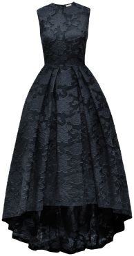 This dress from H&M Conscious collection has weaving that resembles weaving found on Jacquard looms at this time.