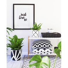 @cushandco gorgeous cushions amongst good company @toucan_ just love print @arcandfamilypots charlottes web pot rug by MUSE @musebypillowtalk all sitting pretty on my jimmy stand from @mockaaustralia not forgetting my fab @leafstreet_ design monochrome magic #monochrome #reallivingloves #styling #stylist #home #homewares #modern #decor #design #decorate #interior #interiorstylist #interiordesigner #insideoutmag #hbmystyle #sharemystyleliving #qweekendloves