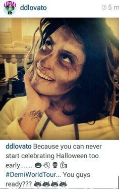 Demi via Instagram
