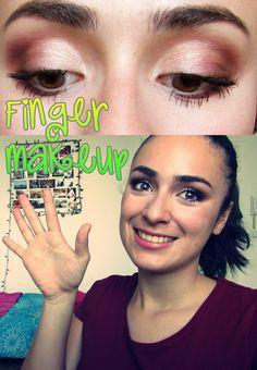 Yaaasss finger makeup!