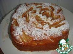 Пирог с грушами ( тесто на йогурте)