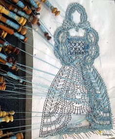 I so want to try bobbin lace ... in my copious free time - ha! Maybe when the kids have left home