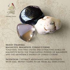 Manifest properity with the Money Draw Gemstone Trio