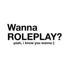 Yo guys! I'm up for roleplaying! Anyone can come, following or not it doesn't particularly matter. If you're interested message me! :)