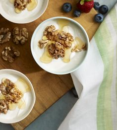walnuts greek yogurt with walnuts and honey plain greek yogurt ...