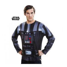 #Camiseta Disfraz de #Darth Vader para Hombre #StarWars Guerra de la Galaxias