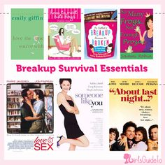 Book & Movie Breakup Survival Essentials