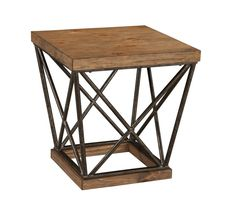 Cordine Light Brown End Table