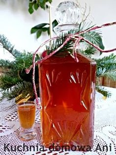Poland Food, Christmas Food Gifts, Polish Recipes, Irish Cream, Non Alcoholic Drinks, Preserves, Liquor, Vodka, Smoothie