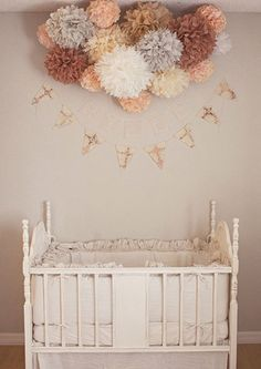These soft pastel tones are perfect for nurseries whilst the addition of grey helps maintain a sophisticated edge.