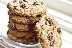 The Ultimate Vegan Oatmeal Raisin Cookie- AMAZING. I swap out dried cranberries for raisins and add white chocolate chips :)
