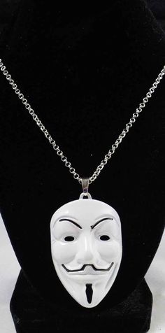 Feast Your Beautiful Peeps on the latest V For Vendetta Mask Pendant!  You can find this V For Vendetta Mask Pendant at https://www.sarassuperstock.com along with Many, Many More Items! :)  #SaraSuperStock
