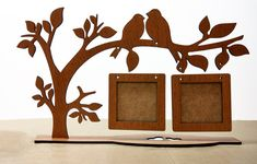 Hottest Cost-Free holzarbeiten basteln Suggestions , Árbol de escritorio con múltiples cuadros # Çokluçerçev a # marco # Kuşluçerçev a Juego Wooden Crafts, Diy And Crafts, Paper Crafts, Tree Patterns, Wood Patterns, Laser Cutter Projects, Photo Booth Frame, Scroll Saw Patterns, Wood Wall Art