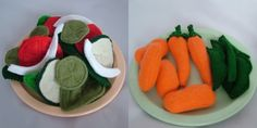 Fabulously Fun Felt Foods - Tons!!! - New Items 1-4-09 & Tuts!! - TOYS, DOLLS AND PLAYTHINGS