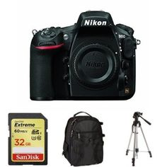Nikon D810 Body Only + Accessories - Excellent advanced Nikon Digital SLR camera produces the most amazing photos. Check it out at www.alldigitalcamerasupplies.com