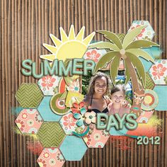 Layout: Summer Days 2012