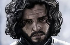 Game of Thrones - Jon Snow by HeroforPain.deviantart.com on @deviantART