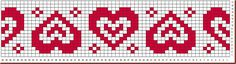 Tapestry Crochet Patterns, Fair Isle Knitting Patterns, Fair Isle Pattern, Bead Loom Patterns, Knitting Charts, Knitting Designs, Beading Patterns, Baby Knitting, Cross Stitch Numbers