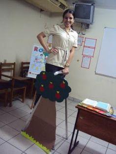 Porque Deus ama as crianças: A lição de Zaqueu com criatividade