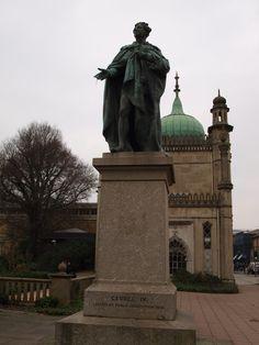 Brighton Streets & Sights..King George IV memorial..