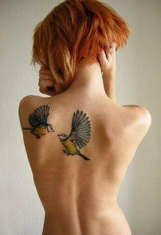 Bird Tattoos for Women Mom Tattoos, Trendy Tattoos, Small Tattoos, Tattoo Mom, Colorful Tattoos, Quote Tattoos, Celtic Tattoos, Chest Tattoo, Bird Tattoos For Women