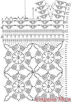 Crochetpedia: camisa de manga longa