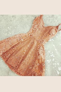 Orange Sweetheart Spaghetti Strapless Homecoming Dresses,Beading Appliques Short Prom Dress HCD124