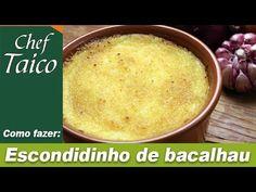 Escondidinho de bacalhau - Chef Taico