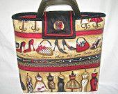 linda bolsa feita com tecido modelo fashionistas