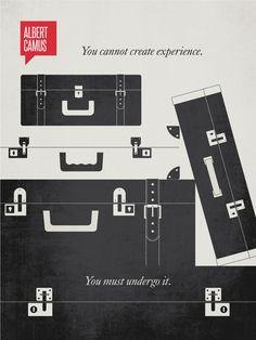 Albert Camus Poster Quote