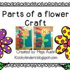 FREE!  This is a simple flower craft with labels. Copy the templates on construction paper. Have students cut and assemble.       Please visit my blog! Ko...
