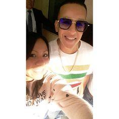 Una selfie junto al Rey de reyes ...  Daddy Yankee  #daddyyankee #dy #pr # Instagram