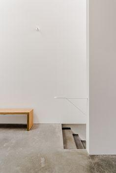 https://flic.kr/p/25BTo89 | Plancher AtelierB | Plancher de béton poli, recette atelierB, projet Parc, @Cyril Charron architecte.