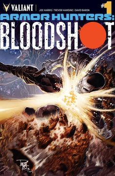 Armor Hunters: Bloodshot #1: The hunters become the hunted! With the major capitals of Earth under siege by the Armor Hunters, the world's most dangerous weapon has decided to come in from the cold - and into the service of the top-secret Military Extraterrestrial Reconnaissance Outpost (M.E.R.O.)!