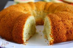 Eggless Orange Poppy Seed Bundt Cake | Eggless Cooking