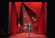 Philip Lim S/S 2010 - Andrew Ondrejcak set design